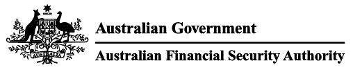 Australian Financial Security Authority