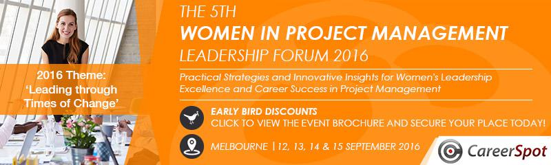 The 5th Women in Project Management Leadership Summit 2016