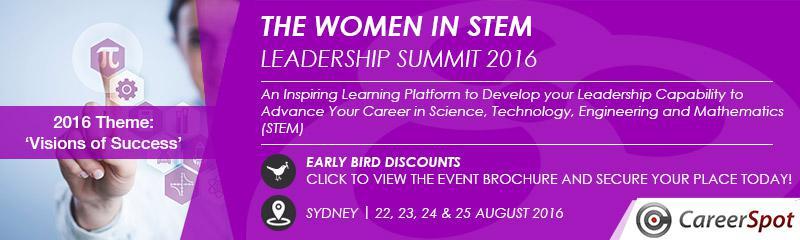 The Women in STEM Leadership Summit 2016