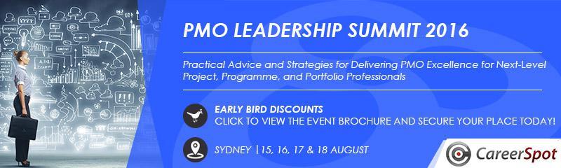 PMO Leadership Summit 2016