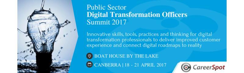 Public Sector Digital Transformation Officers Summit 2017