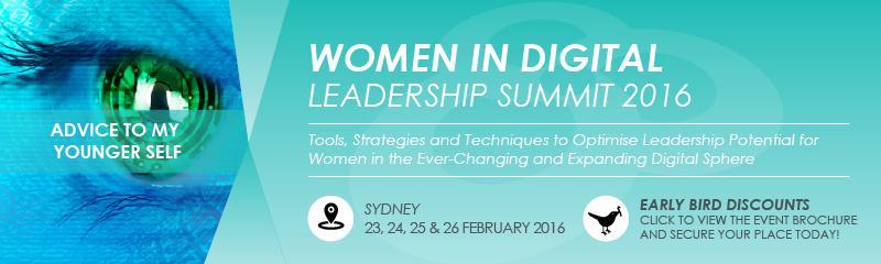 Women in Digital Leadership Summit 2016